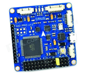 CRIUS ALL IN ONE PRO v1.0 Multiwii & Megapirate Flight Controller