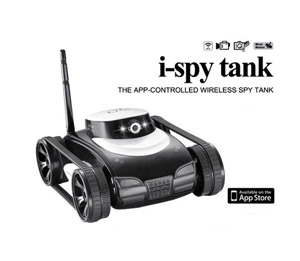 i-SPY Tank wifi 4-CH controlled by iPhone/Android